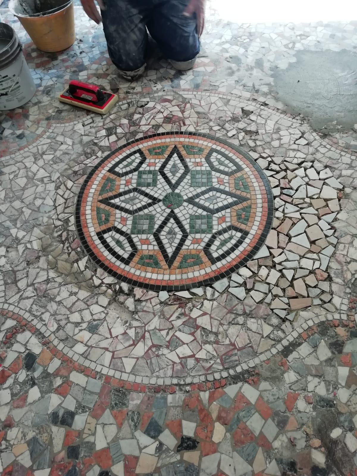 Restauro mosaico 3