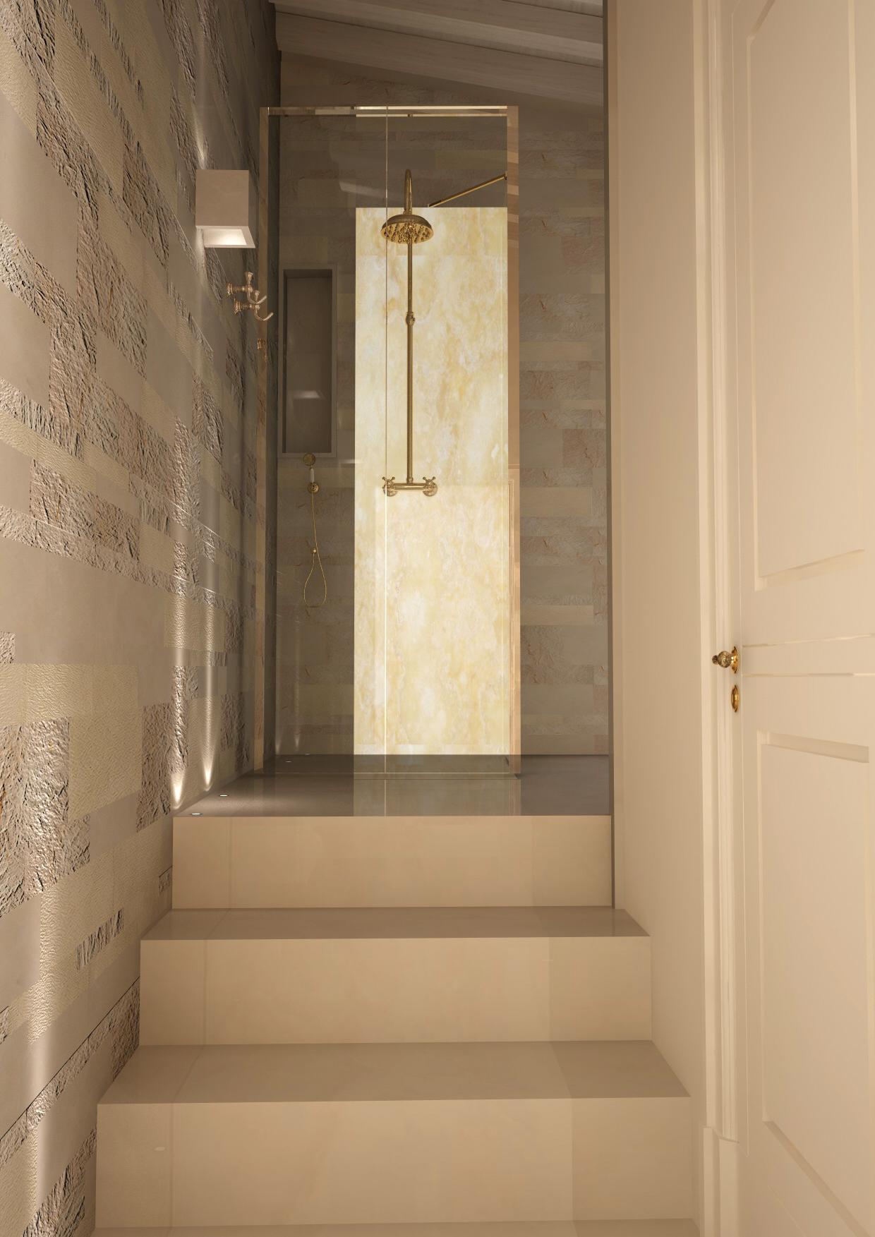 ingresso area welness bagno padronale